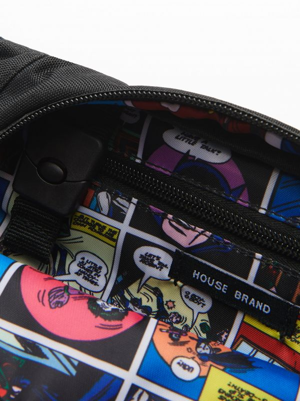 Beutel Batman - schwarz - VC389-99X - House - 2