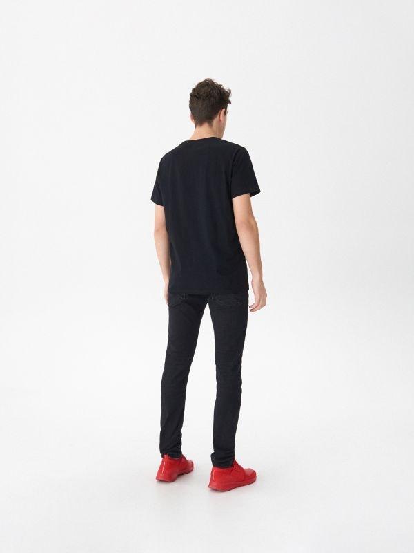 T-krekls ar apdruku Deadpool  - melns - VO474-99X - House - 3