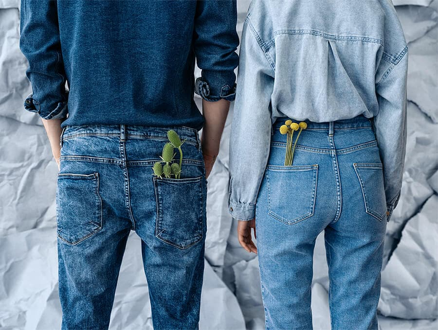House AW19 lookbook Denim Days