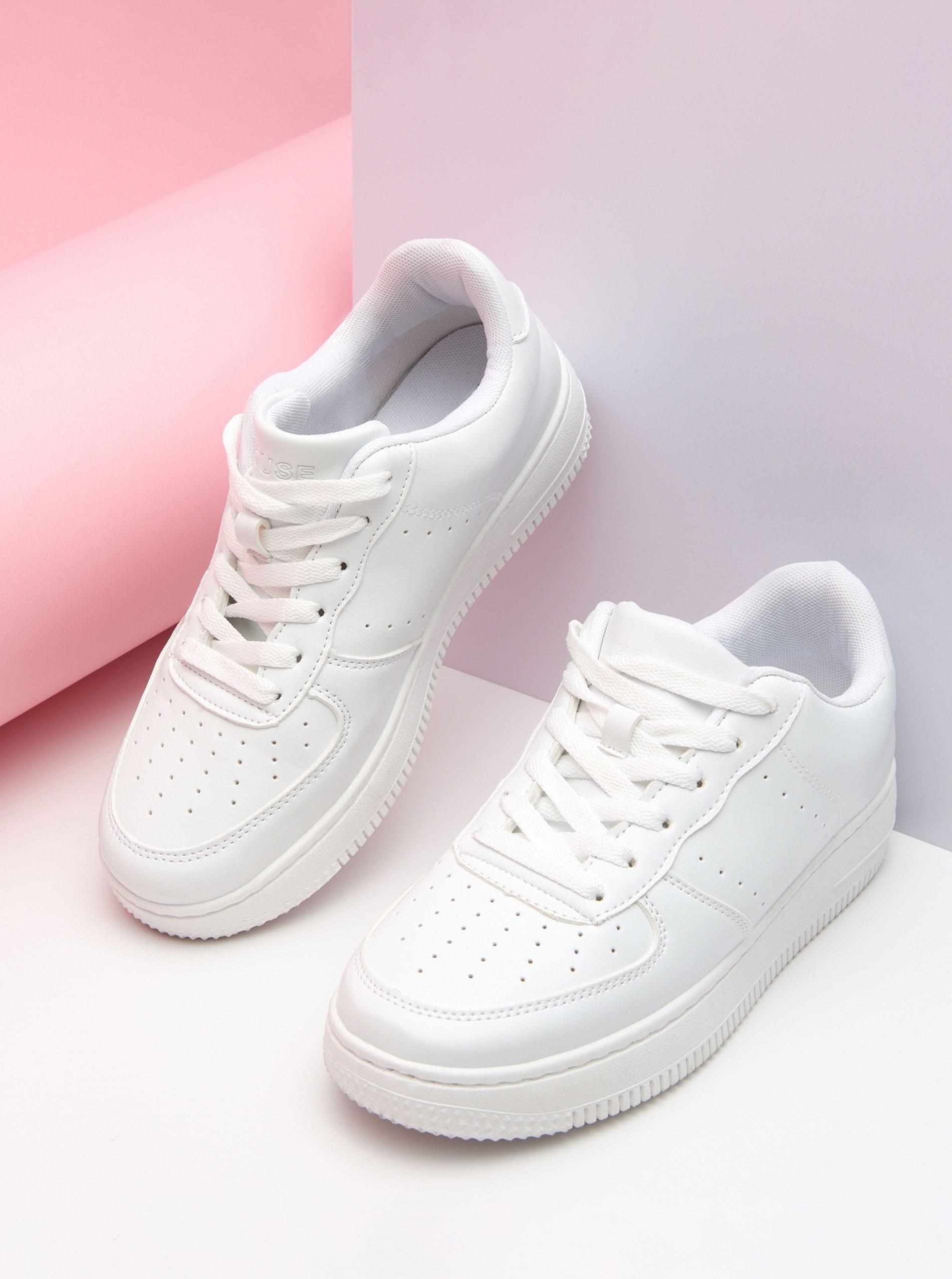 Biele tenisky - biela - 2240E-00X - HOUSE - 1