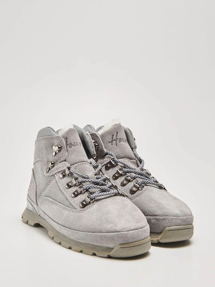 8938b883e2a78 Kožené trekingové topánky, HOUSE, TZ256-90X