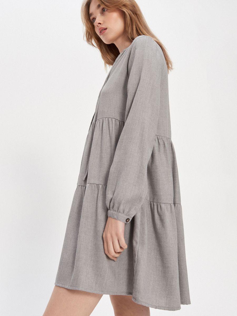 Kleid mit Rüschen, HOUSE, YM19-19X