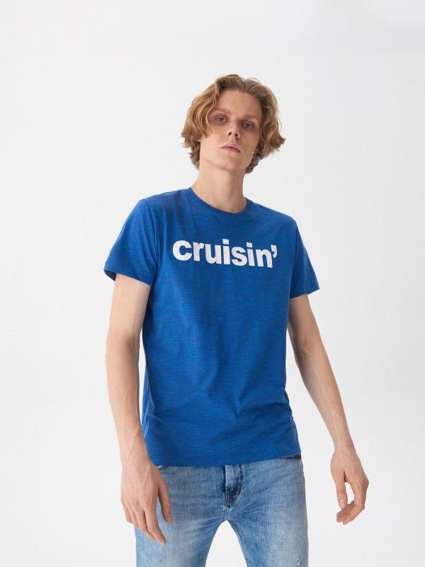 d9f7098f61cda9 Koszulka Harry Potter · T-shirt z napisem - niebieski - UX998-55M - HOUSE