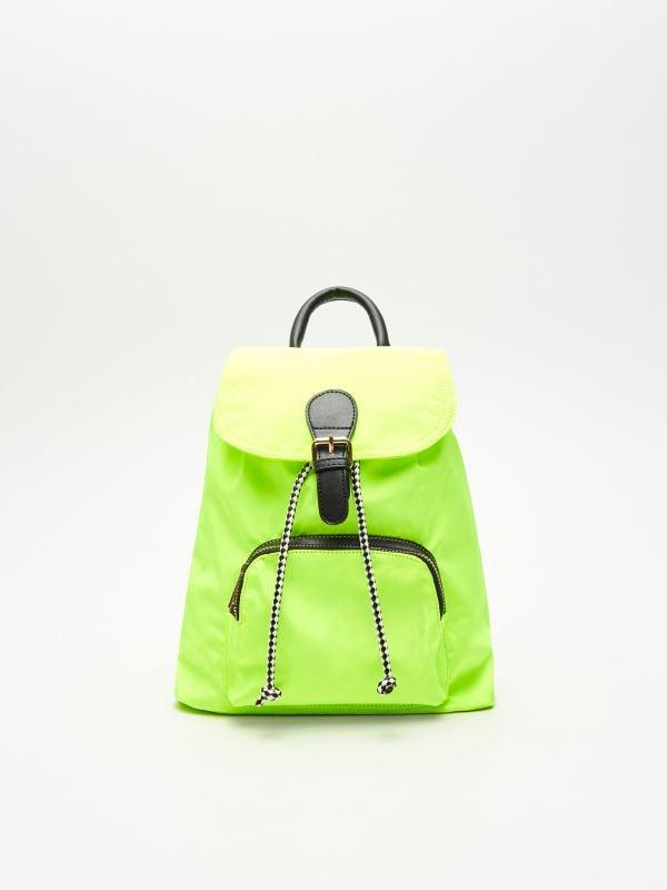 89d3789096c70 Neonowy plecak - żółty - VM988-11X - House - 0 ...