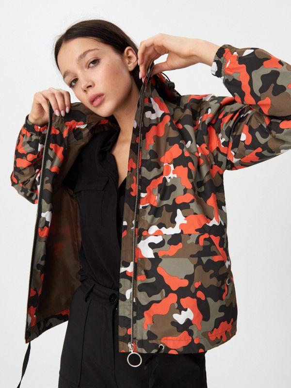 fbe8bfb1be Džínsová bunda katana · Bunda s kapucňou - viacfarebná - VR256-MLC - HOUSE