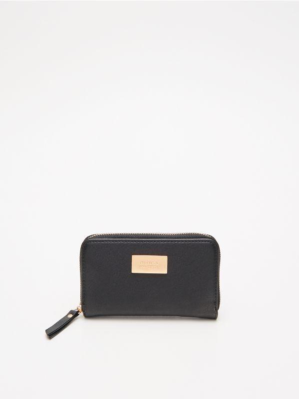 2718bfe10d31 Бумажник с декоративной деталью · Бумажник - Черный - VS795-99X - HOUSE