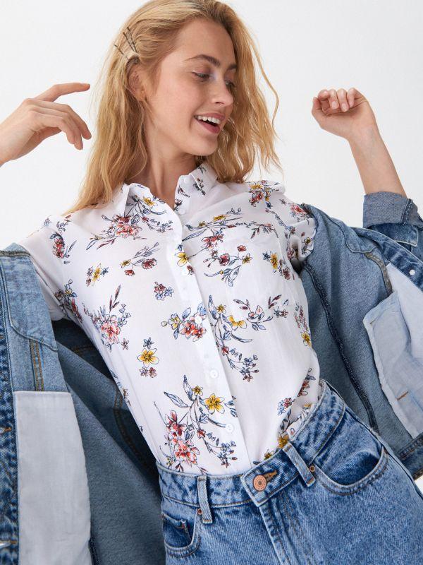 abb66af1f78097 Koszule damskie | Modne wzory i kroje z kolekcji House online