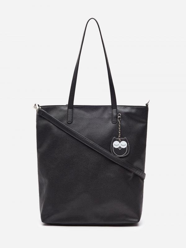 c9385370594cf Basic kabelka · Taška shopper s príveskom - čierna - WX426-99X - HOUSE