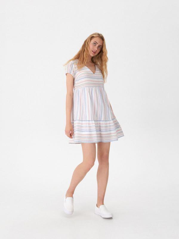 8433350237ad LADIES` DRESS · LADIES` DRESS - viacfarebná - XB744-MLC - HOUSE