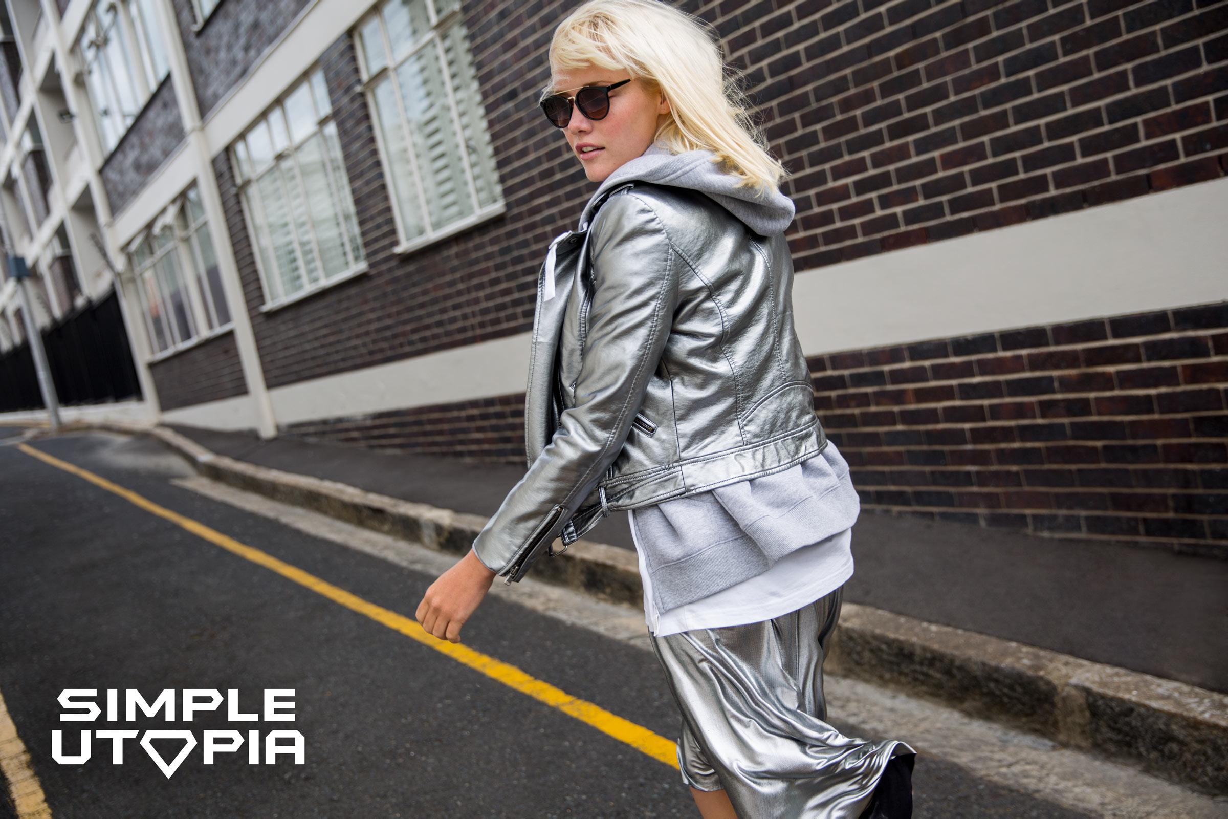 Simple Utopia, czyli srebrzysty błysk w miejskim wydaniu!