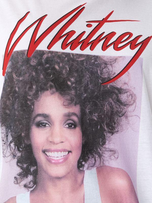T-shirt z nadrukiem Whitney - biały - VT443-00X - House - 4