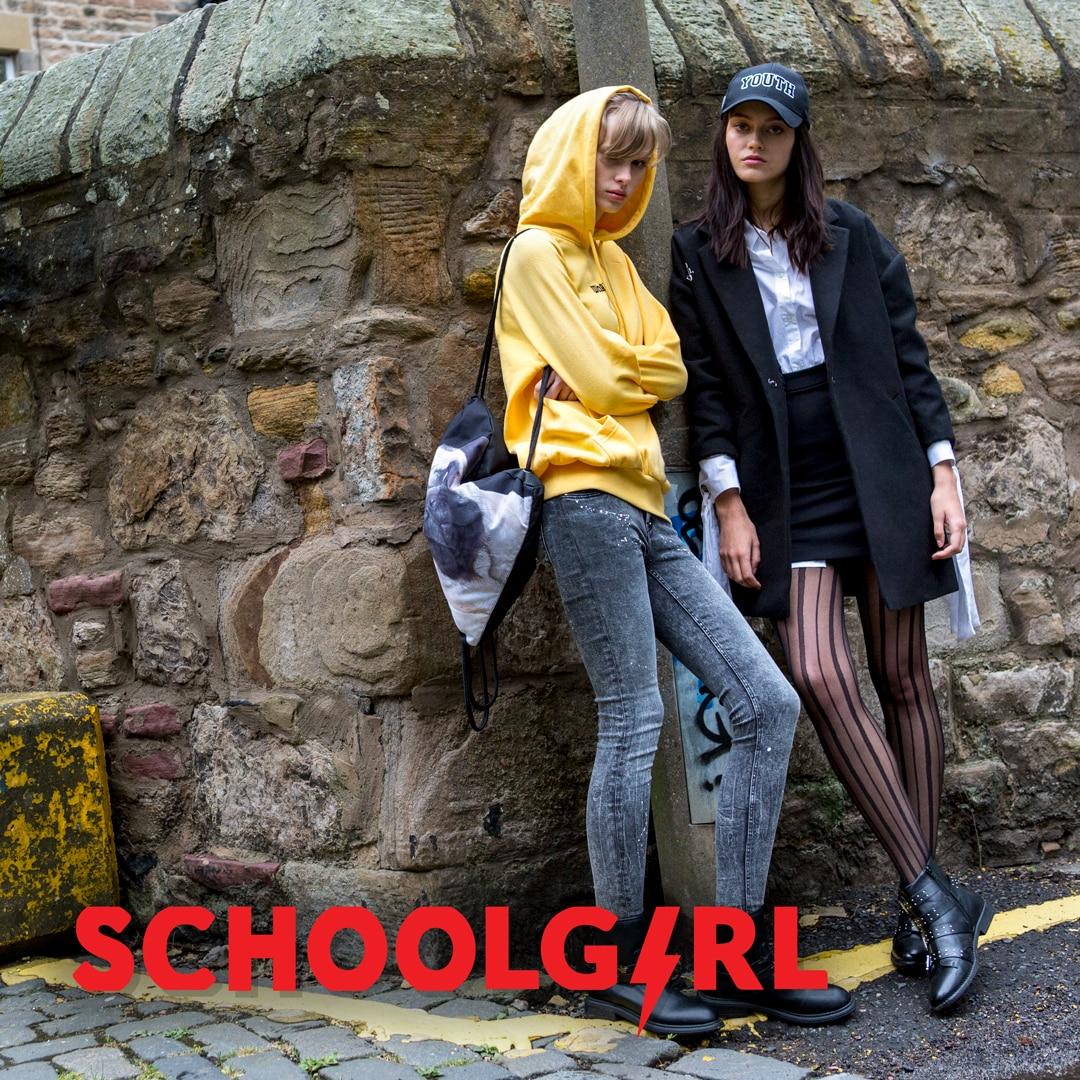 Schoolgirl – codzienny look z pazurem!