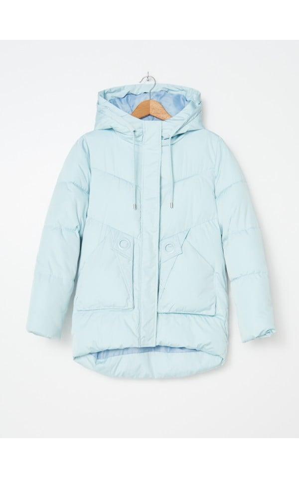 Стеганая куртка с капюшоном, HOUSE, YM819-06X